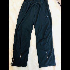 NIKE Dr fit Black Workout Warmup Sweats Size XL